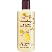 Crabtree & EvelynCitron, Honey & Coriander Skin Cleansing Bath and Shower Gel