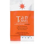 Tan TowelHalf Body Plus Towelette 1 Count