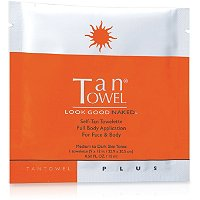 Tan TowelFull Body Plus Towelette 1 Count
