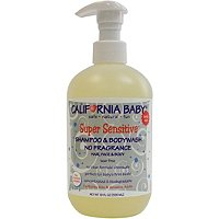California BabySuper Sensitive Shampoo & Bodywash