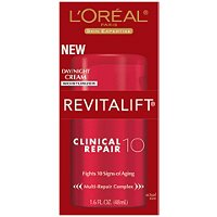 L'OrealRevitalift Clinical Repair 10 Day/Night Cream Moisturizer