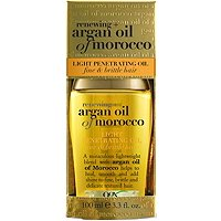 OrganixLight Moroccan Argan Oil Penetrating Oil Fine Brittle Hair