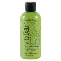 Green Tea and Sage Body Wash
