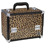 CaboodlesBrown Cheetah Cosmetic Case