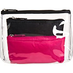 BasicsBlack 3 Pc Travel Pouch
