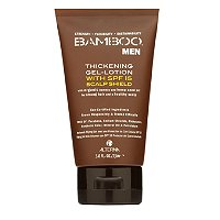 Bamboo Men Thickening Gel-Lotion with SPF 15 Scalp Shield