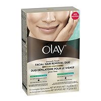 OlaySmooth Finish Facial Hair Removal Duo
