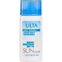 ULTASun Faces Dry Touch Liquid Daily Sunscreen SPF 70