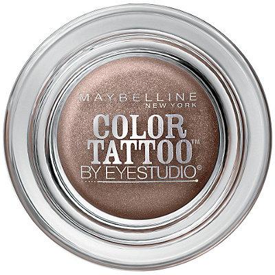 Maybelline eye studio color tattoo eyeshadow bad to the for Maybelline color tattoo gel eyeshadow