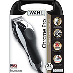 Wahl24 Pc. Chrome Pro Haircutting Kit