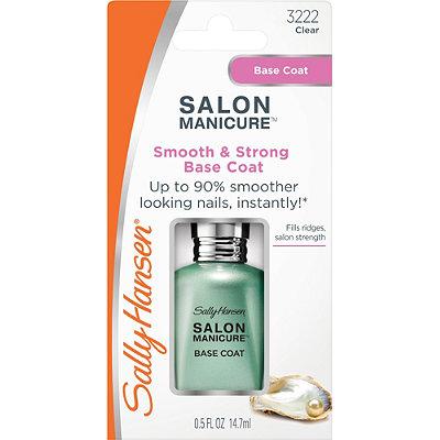 Sally hansen salon manicure smooth strength base coat - Base coat nail salon ...