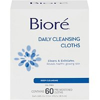 Daily Cleansing Cloth 60 Ct
