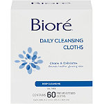 BioreDaily Cleansing Cloth 60 Ct