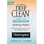 NeutrogenaDeep Clean Long-Last Shine Control Blotting Sheets