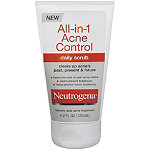 NeutrogenaAll-In-1 Acne Control Daily Scrub