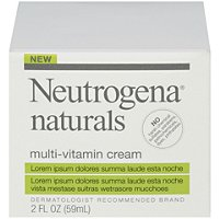 NeutrogenaNaturals Multi-Vitamin Cream