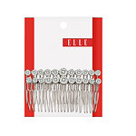 ElleLarge Rhinestone Side Comb 2 Ct