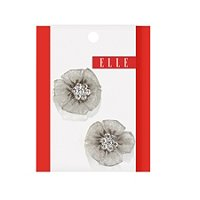 ElleMesh Flower Salon Pin 2 Ct