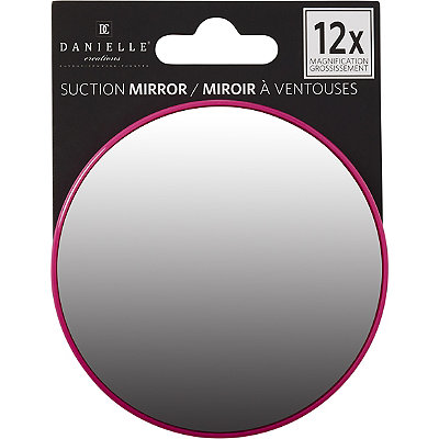 danielle suction cup mirror 10x pink cosmetics fragrance salon a. Black Bedroom Furniture Sets. Home Design Ideas