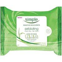 Kind To Skin Exfoliating Wipes 25 Ct