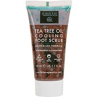 Earth TherapeuticsTravel Size Tea Tree Oil Cooling Foot Scrub