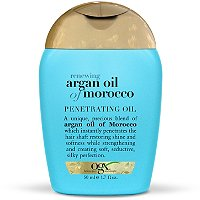 OrganixTravel Size Extra Strength Moroccan Argan Oil Penetrating Oil Dry, Course Hair