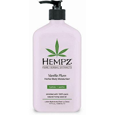 HempzVanilla Plum Herbal Body Moisturizer