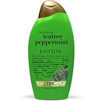 OrganixSoothing Tea Tree Peppermint Cooling Body Lotion