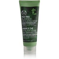 The Body ShopTea Tree Blackhead Exfoliating Wash