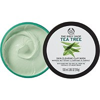 The Body Shop Tea Tree Face Mask :  acne the body shop beauty products mask