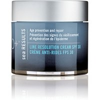 H2O PlusSea Results Line Resolution Cream SPF 30