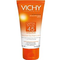 VichyCapital Soleil SPF 45 Silkscreen Dry-Finish Lotion
