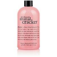 Pink Frosted Animal Cracker Shower Gel