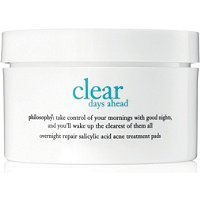 PhilosophyClear Days Ahead Overnight Repairing Pads 60 Ct