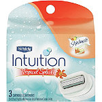 SchickIntuition Tropical Splash Cartridge 3 Ct