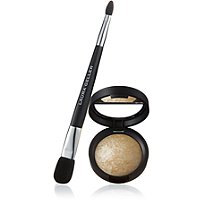 Laura Geller BeautyBaked Highlighter with Double-Ended Face & Eye Applicator