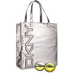 DknyOnline only! FREE BE Delicious Silver Tote with any $80 BE Delicious purchase
