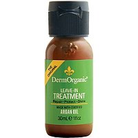 DermorganicTravel Size Leave-in Treatment w/ Argan Oil