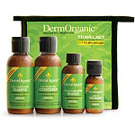 DermorganicTravel Set w/ Zipper Bag