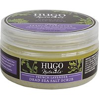 Hugo NaturalsDead Sea Salt Scrub - French Lavender