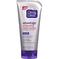 Clean & ClearAdvantage Oil Absorbing Cream Cleanser