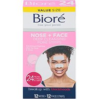 BioreDeep Cleansing Pore Strips 24 Ct