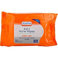 University MedicalAcne Free -In-1 Acne Wipes 30 Ct