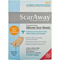 Silicone Scar Treatment Sheets 8 Ct
