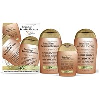 OrganixEver Straight Brazilian Keratin Therapy 3 Pc Starter Kit