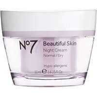 BootsNo 7 Beautiful Skin Night Cream Normal/Dry Skin