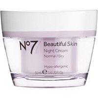 No 7 Beautiful Skin Night Cream Normal/Dry Skin