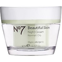 BootsNo 7 Beautiful Skin Night Cream Normal/Oily Skin