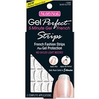 Nutra NailGel Perfect UV-Free French Fashion Strips