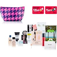 ULTAFREE beauty bag w/any $100 ulta.com purchase, a $70 value